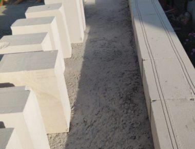 Штробирование первого ряда кладки в Мытищинском районе деревня Чиверево