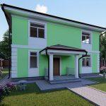 Проект дома GH20-169 - визуализация 02