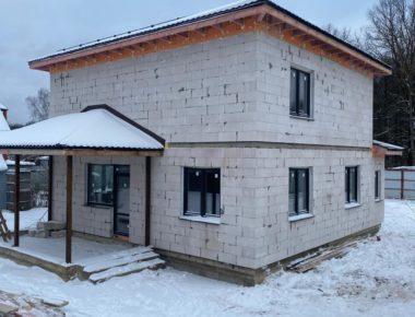 Законченный дом с нуля до крыши в д. Лукошкино