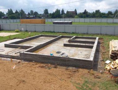 Строительство частного дома из газобетона с. Бужаниново