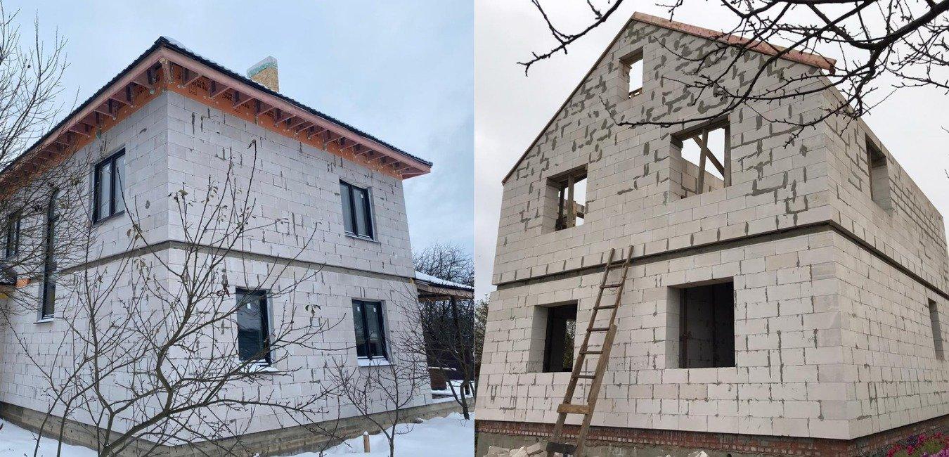 Окончательная цена постройки дома из газобетона