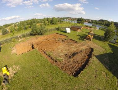 Разработка грунта в Тверской области 1