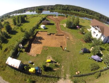 Разработка грунта в Тверской области, Калязино