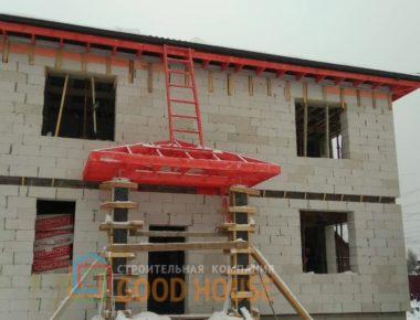 Строительство дома из газобетона. Проект дома - GH20-169
