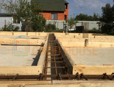 Монолитные стены фундамента работа в Лукошкино