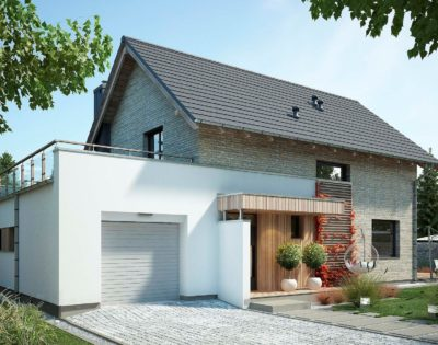 Если есть отделка фасада дома, как поступить?