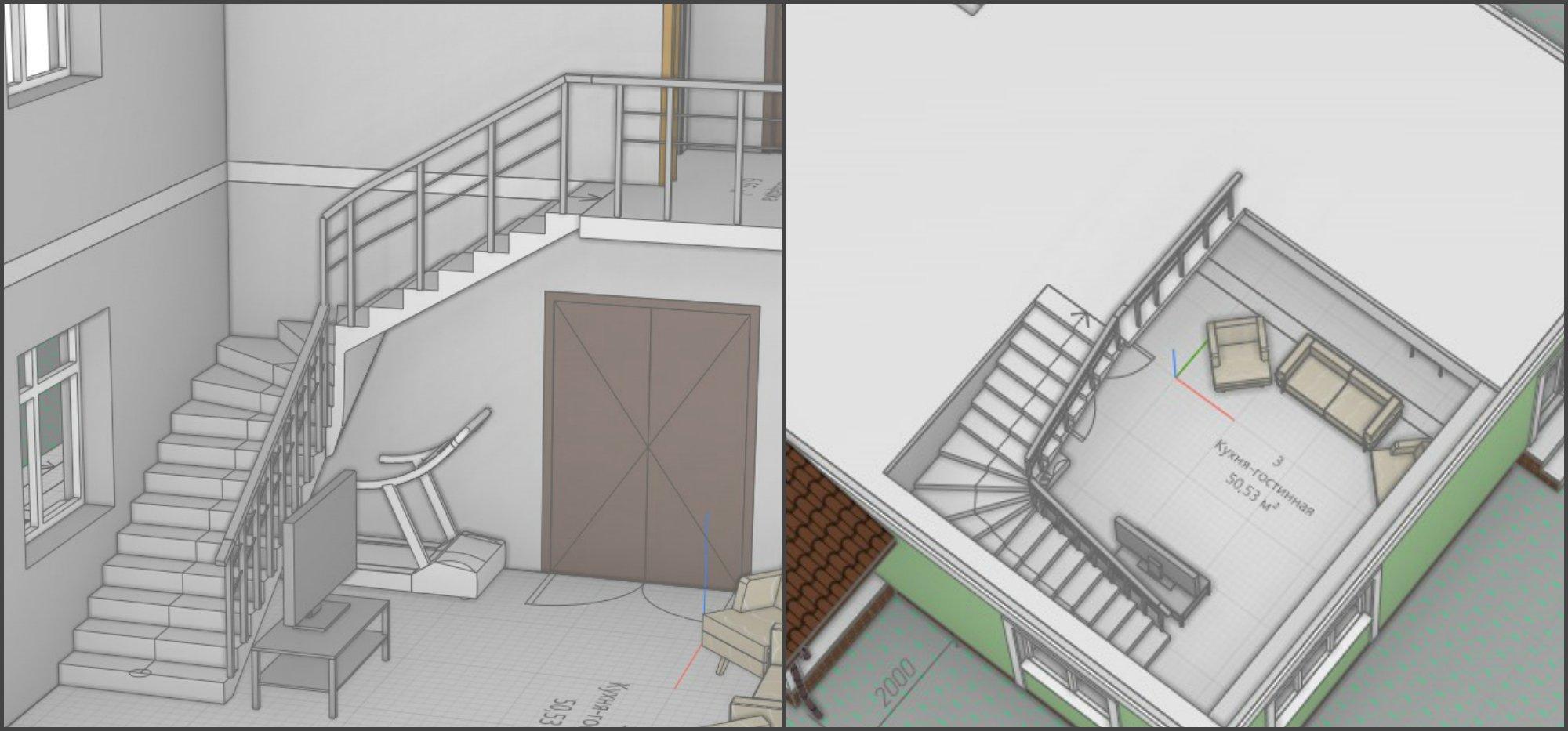 Правильная планировка лестниц в частном и загородном доме