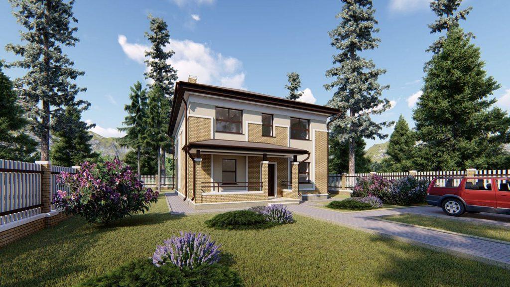 Проект дома GH20-168-01