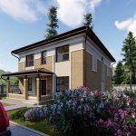 Проект дома GH20-168-02