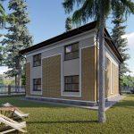Проект дома GH20-168-04
