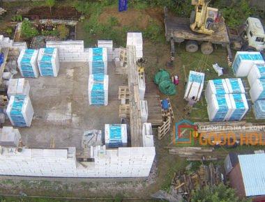 Строительство дома из газобетона в Мытищах д.Чиверево