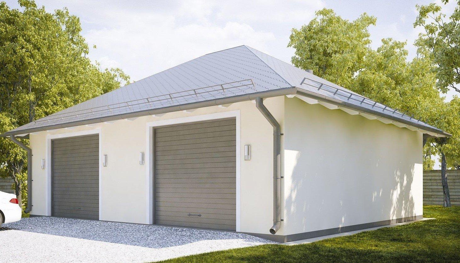 Преимущества гаражей из газобетонных блоков
